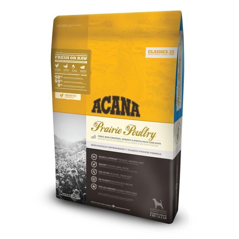 Acana Classics Prairie Poultry Tahılsız Köpek Maması 17 Kg