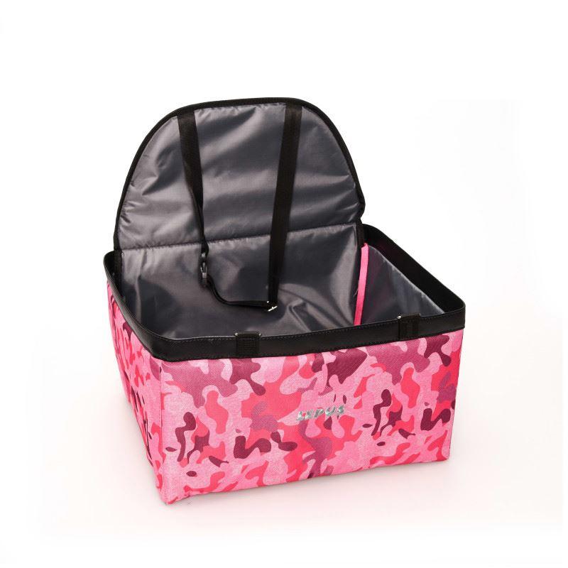 Lepus Pet Araç Koltuğu Pink Camo