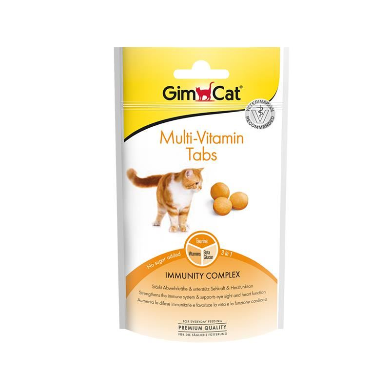 Gimcat Multivitamin Kedi Ödül Tableti 40 Gr