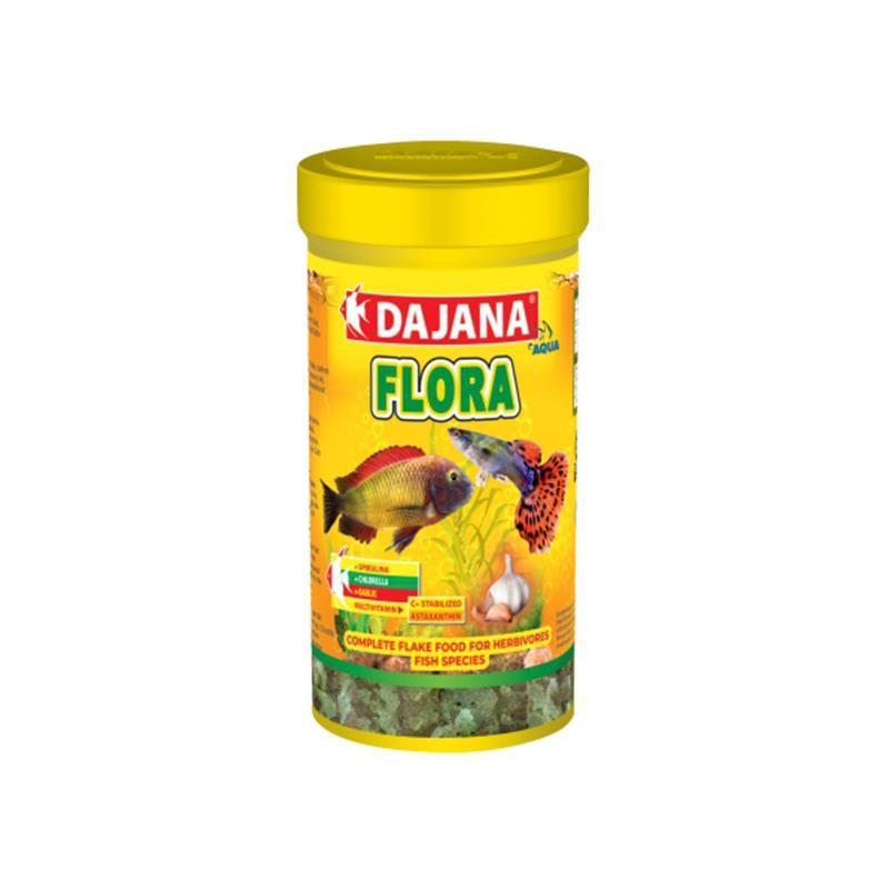 Dajana Flora Sarımsaklı Bitkisel Pul Yemi 250 Ml 50 Gr