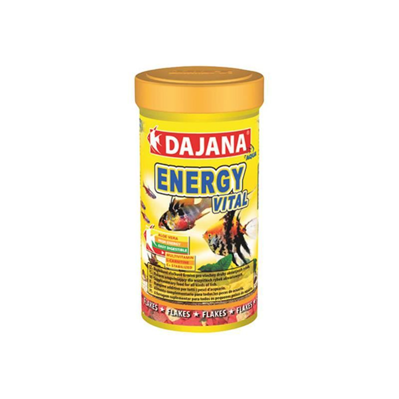 Dajana Tropical Energy Vital Flakes 250 Ml 50 Gr