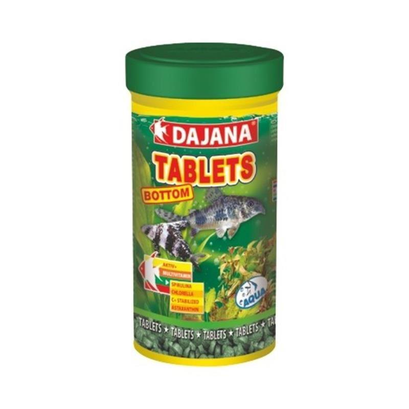 Dajana Tablets Bottom Dip Balıkları Tablet Yem 100 Ml 50 Gr