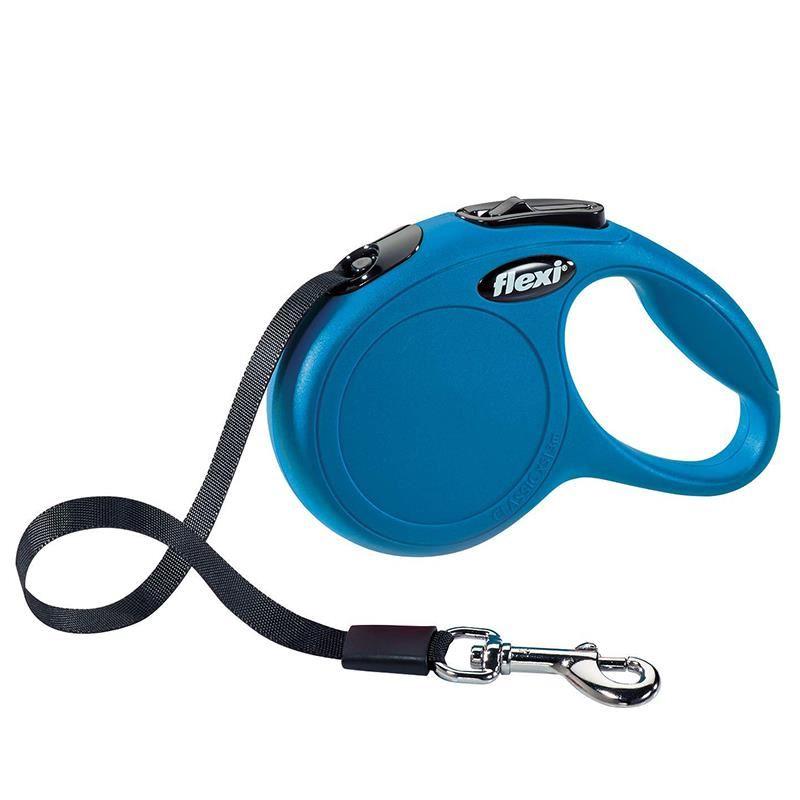 Flexi New Classic Large 5 Mt Şerit Mavi