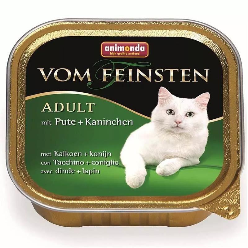 Animonda Hindi ve Tavşanlı Kedi Konservesi 100 Gr