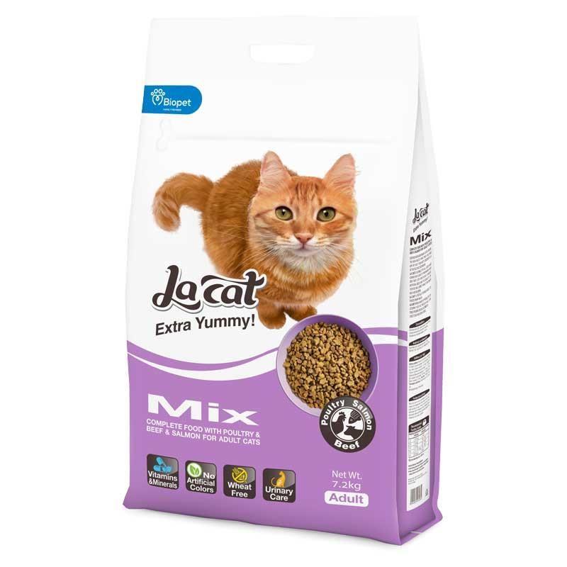 La Cat Mix Karışık Etli Yetişkin Kedi Maması 7.2 kg