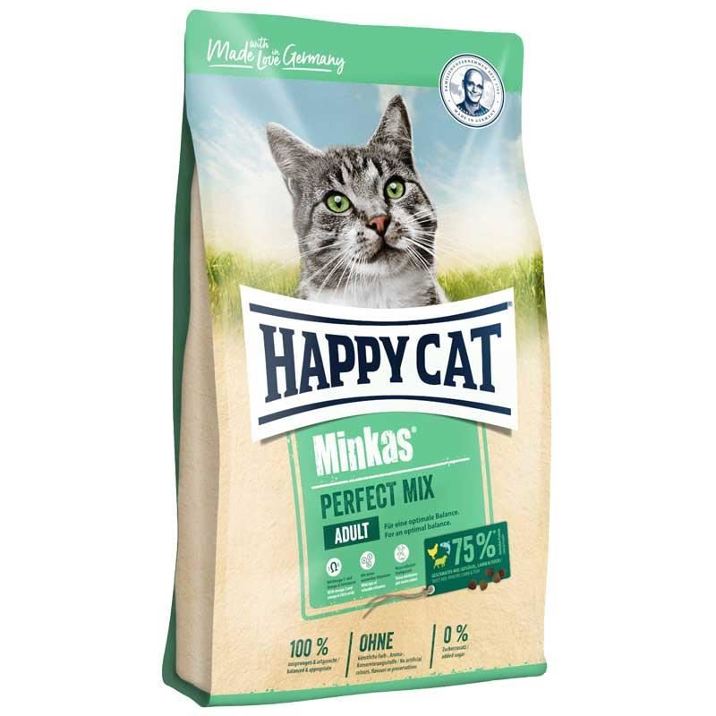 Happy Cat Minkas Perfect Mix Yetişkin Kedi Maması 10 kg
