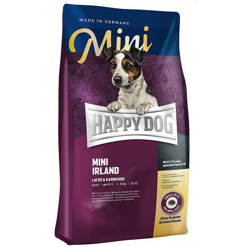 Happy Dog Mini İrland Somonlu Hassas Köpek Maması 4 Kg