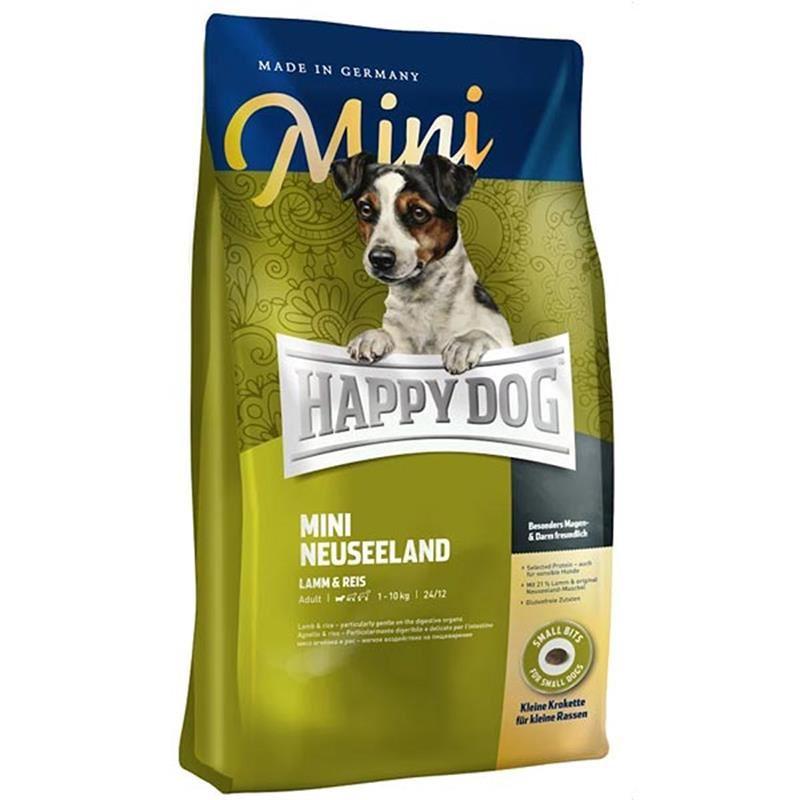 Happy Dog Mini Neuseeland Kuzulu Hassas Köpek Maması 4 Kg