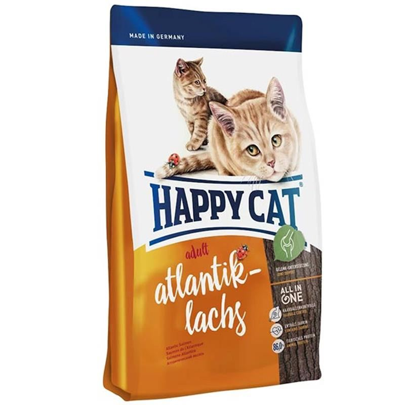 Happy Cat Atlantik Lachs Somonlu Kedi Maması 4 Kg