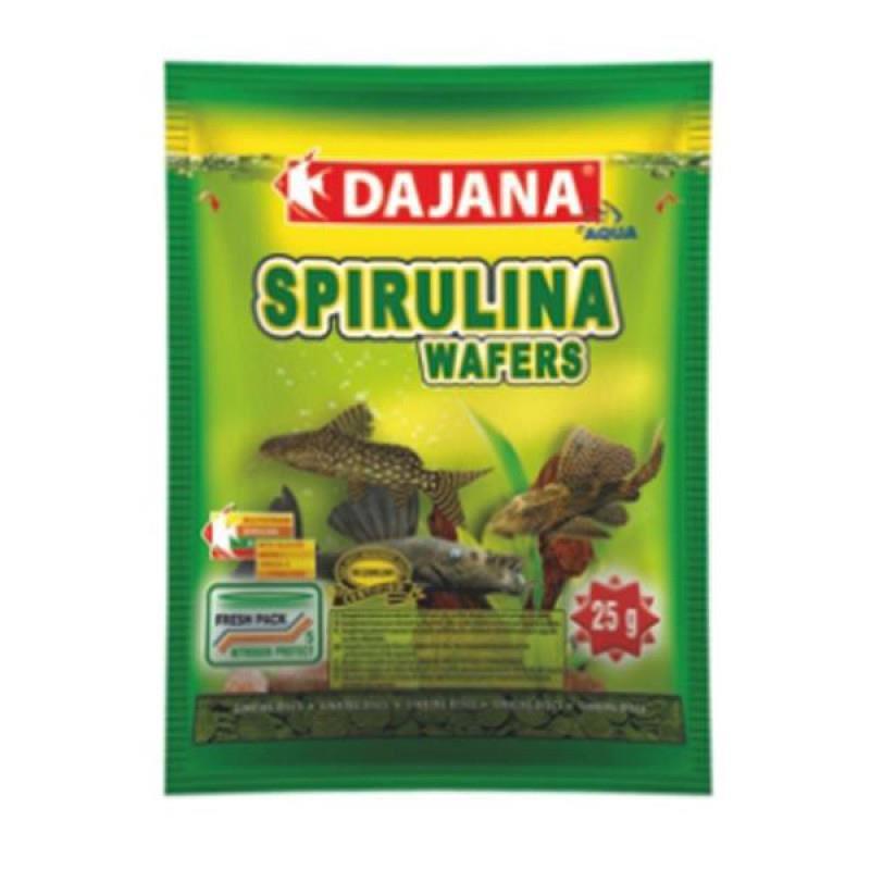 Dajana Spirulina Wafers Yem 80 ml 25 Gr