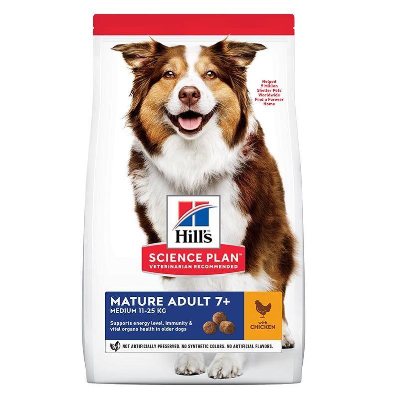 Hills Active +7 Tavuklu Medium Yaşlı Köpek Maması 2,5 Kg