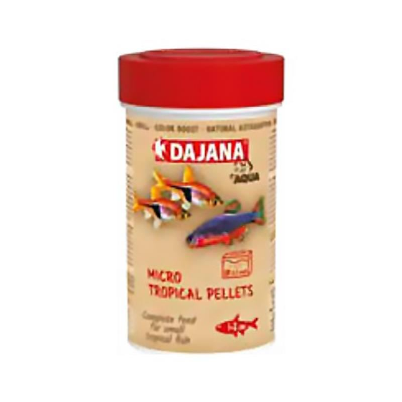 Dajana Micro Tropical Pellets 100 Ml 55 Gr