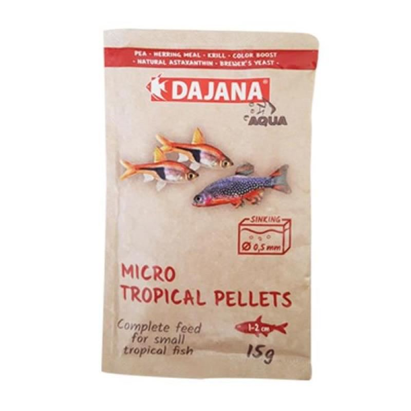 Dajana Micro Tropical Pellets 15Gr