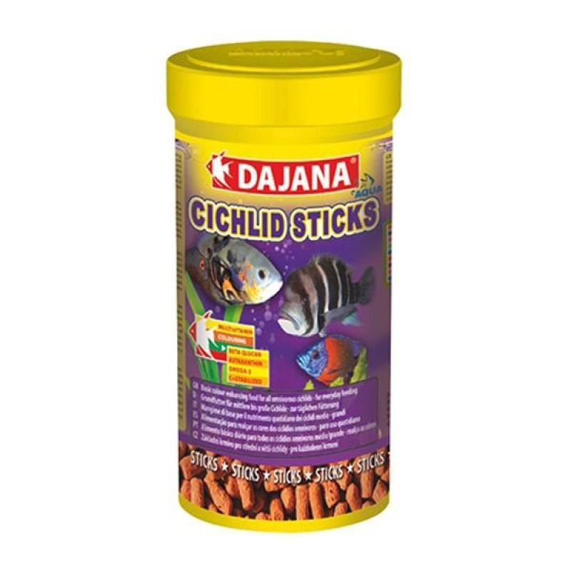 Dajana Cichlid Sticks 1000 ml 375 Gr