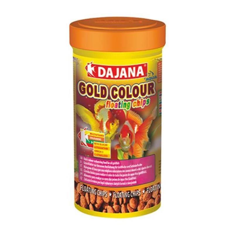 Dajana Gold Colour Floating Chips 100 ml 40 Gr