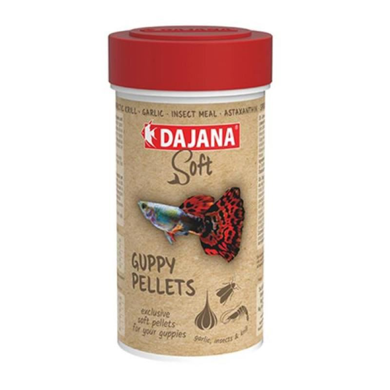 Dajana Guppy Pellets Soft 100 ml 50 Gr