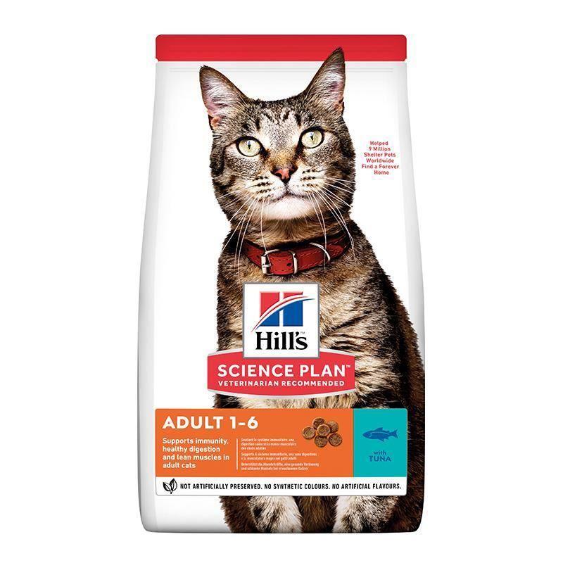 Hills Ton Balıklı Yetişkin Kedi Maması 10 Kg