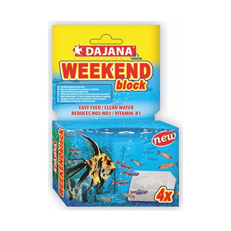 Dajana Weekend Block Tatil Yemi 4 lü 25 Gr