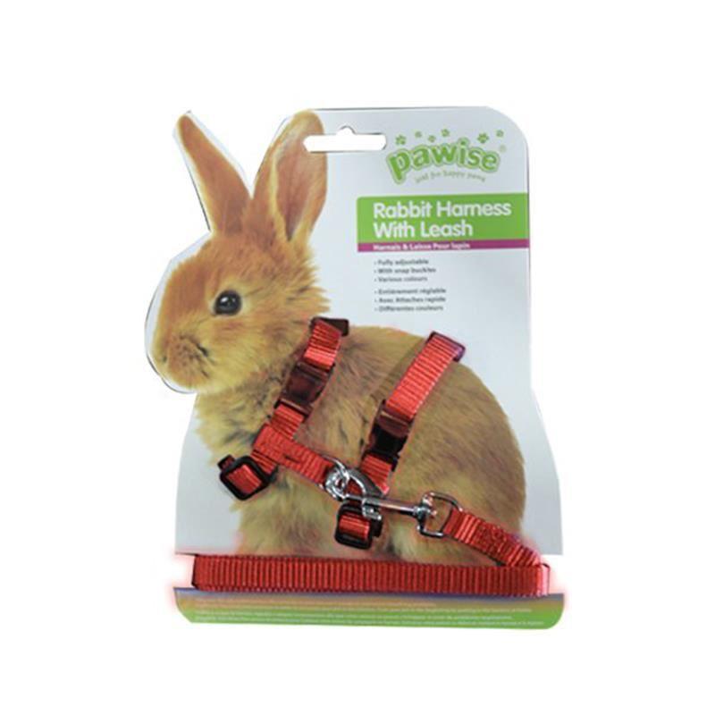Pawise Tavşan Göğüs Tasması Kırmızı