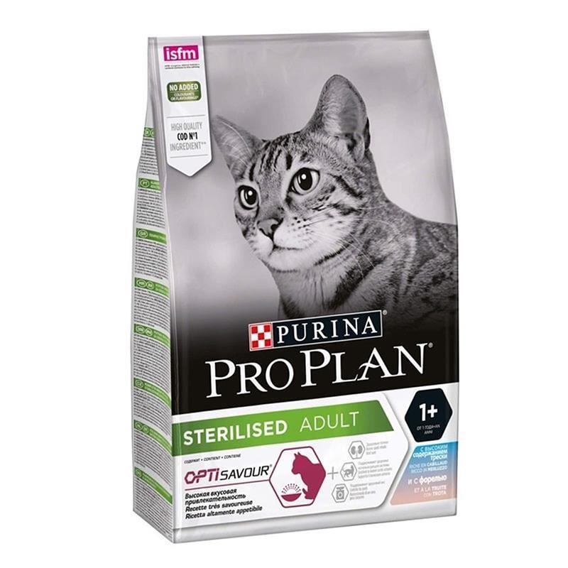 ProPlan Sterilised Morina ve Alabalıklı Kısırlaştırılmış Kedi Maması 10 Kg