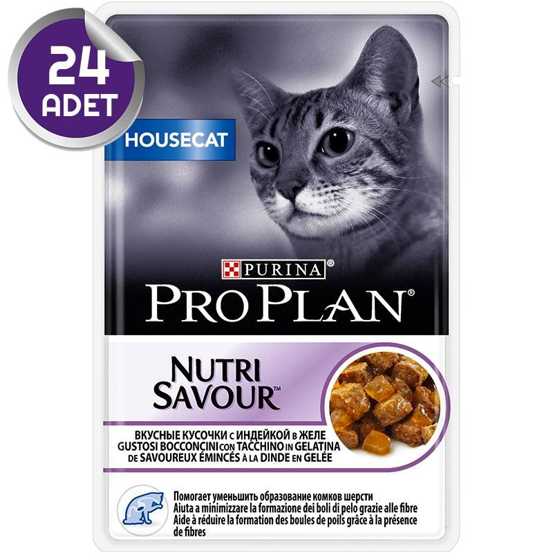 Proplan Housecat Hindi Etli Kedi Konservesi Pouch 85 Gr X 24