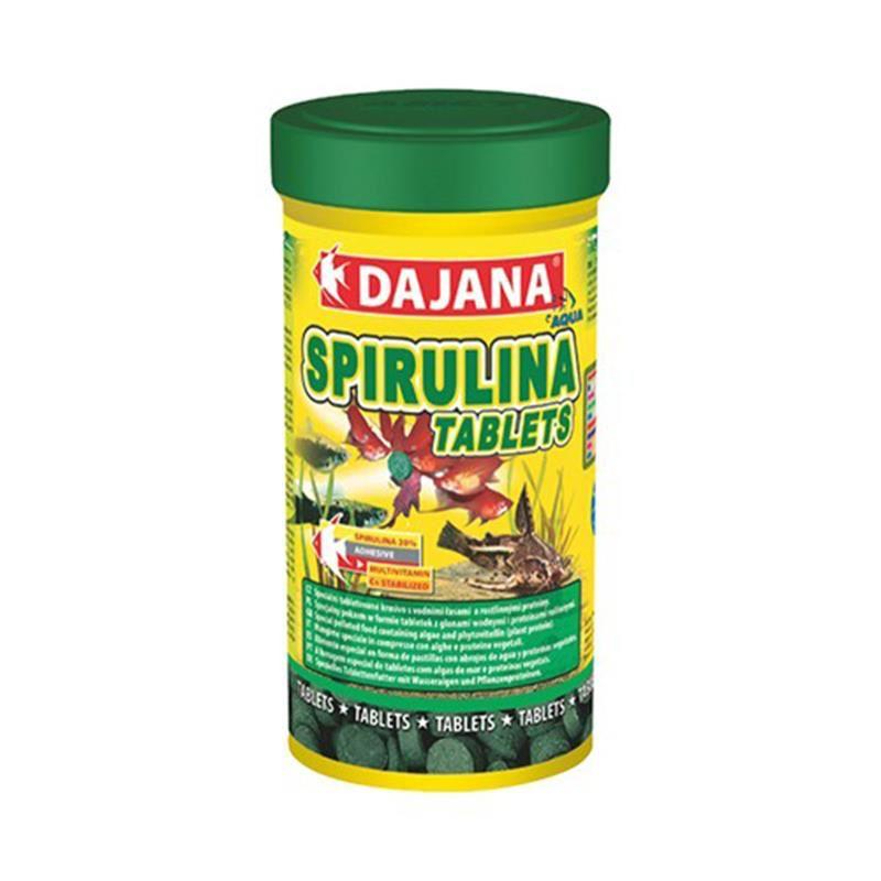 Dajana Spirulina Balıklar İçin Bitkisel Tablet 100 Ml 50 Gr