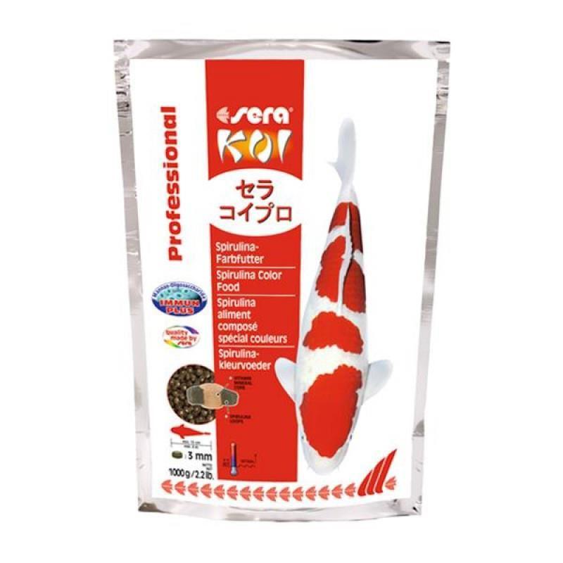 Sera Koi Professional Spirulina Renk Yemi 1 Kg