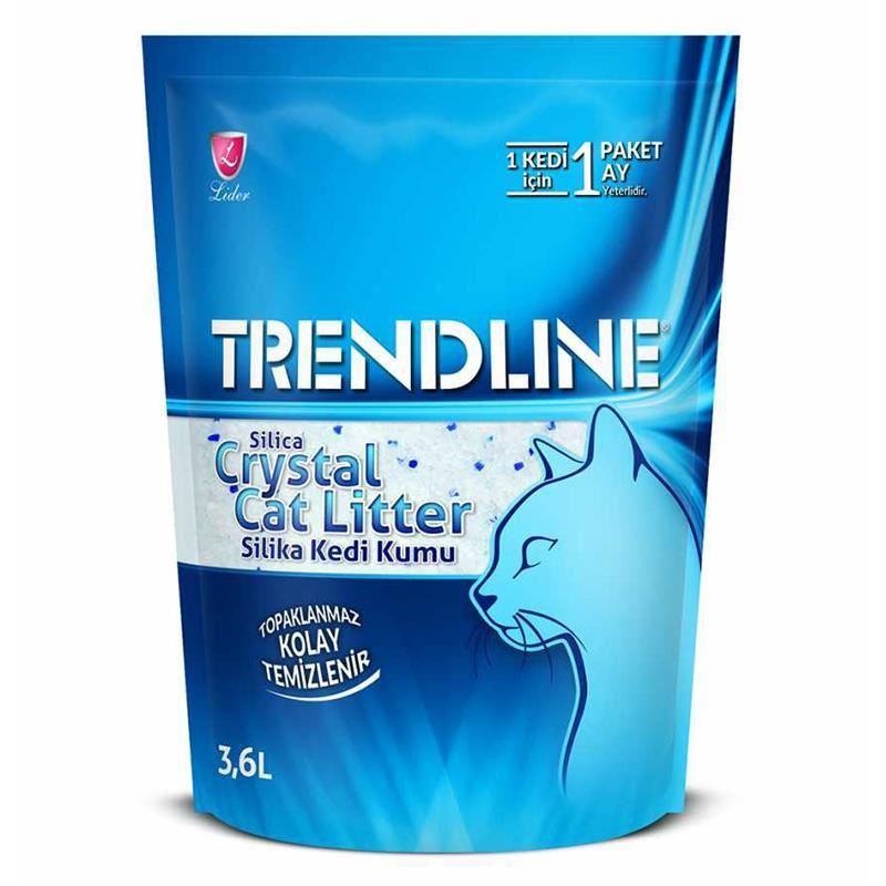 Trendline Slica Parfümsüz Kedi Kumu 3,6 Lt