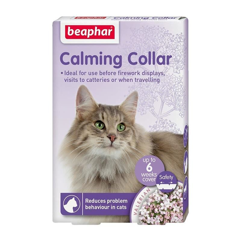 Beaphar Calming Collar Sakinleştirici Kedi Tasması 35 Cm