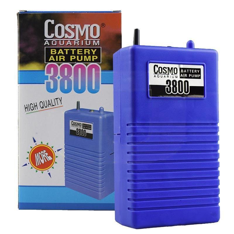 Cosmo 3800 Pilli Akvaryum Hava Motoru Tek Çıkışlı