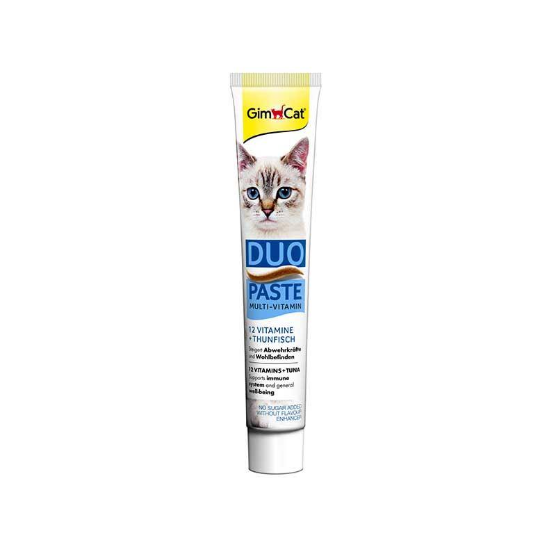 GimCat Duo Paste Ton Balıklı 12 Vitaminli Kedi Macunu 50 Gr