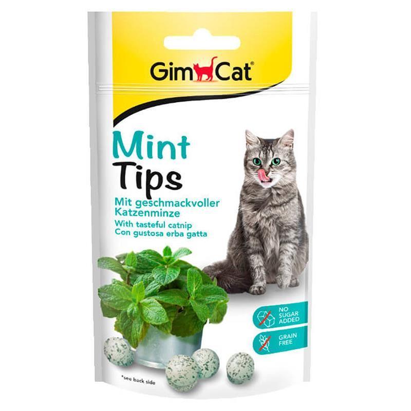 GimCat Mint Tips Catnip Topları Kedi Ödülü 40 Gr