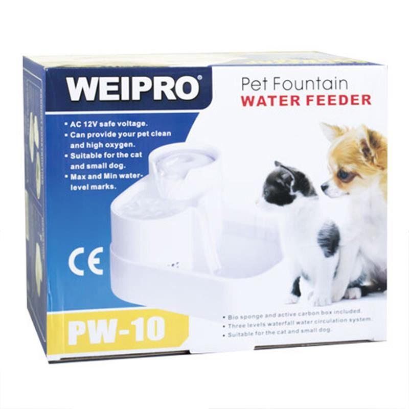 Weipro PW-10 Kedi ve Köpek Otomatik Su Kabı