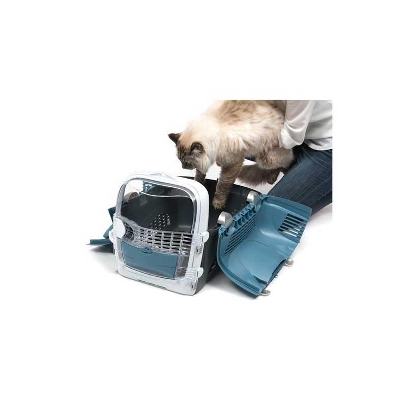 Catit Cabrio Kedi ve Köpek Taşıma Çantası Mavi/Gri