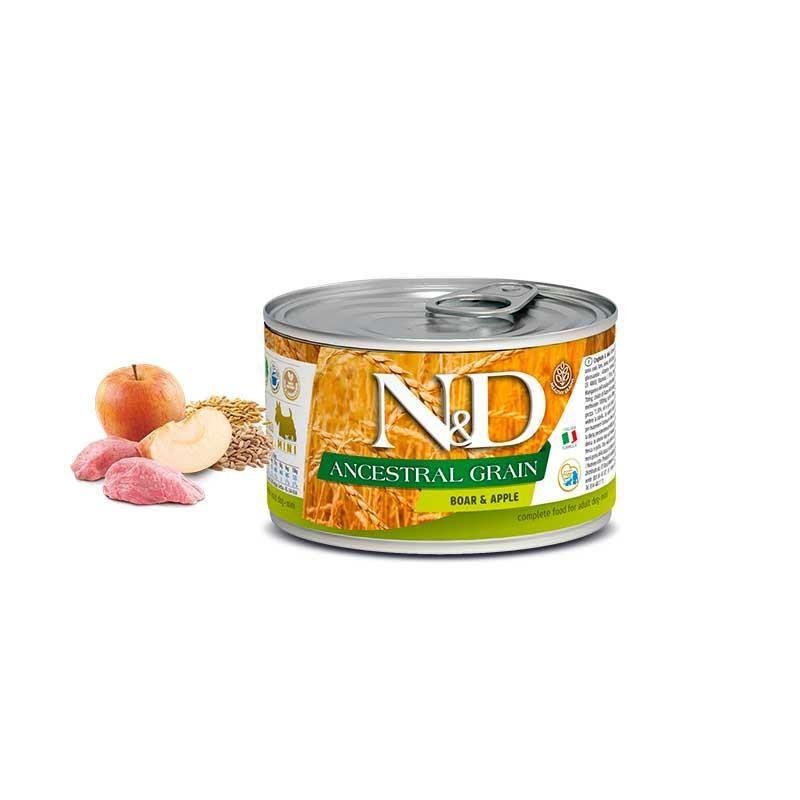 ND Düşük Tahıllı Domuz Etli Mini Köpek Konservesi 140 gr