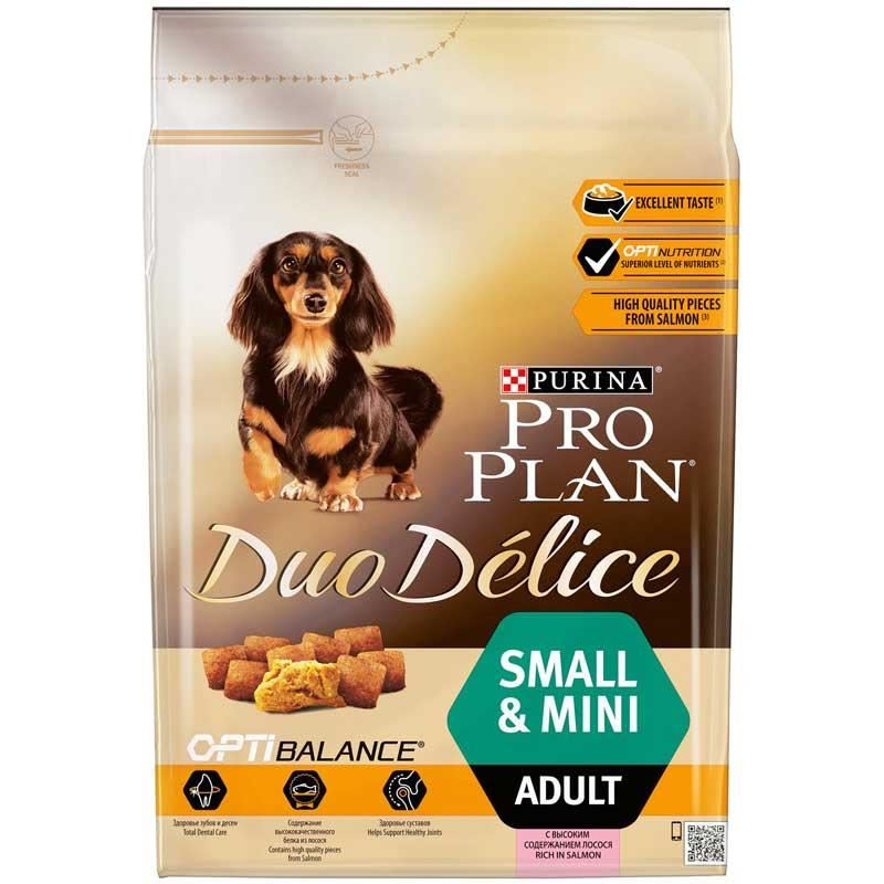 Proplan Duo Delice Small Mini Adult Somon 2.5 kg