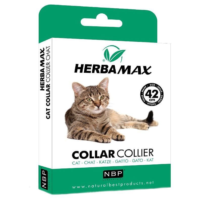 Herba Max Kediler İçin Doğal Pire Tasması 42 Cm