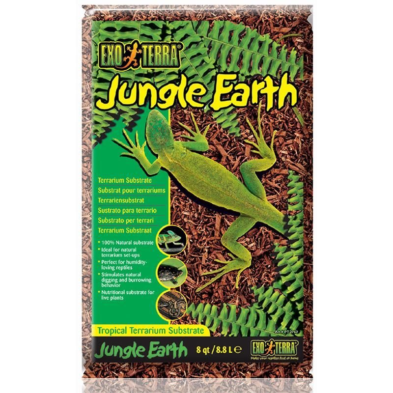 Exo Terra Jungle Earth 8 Quart