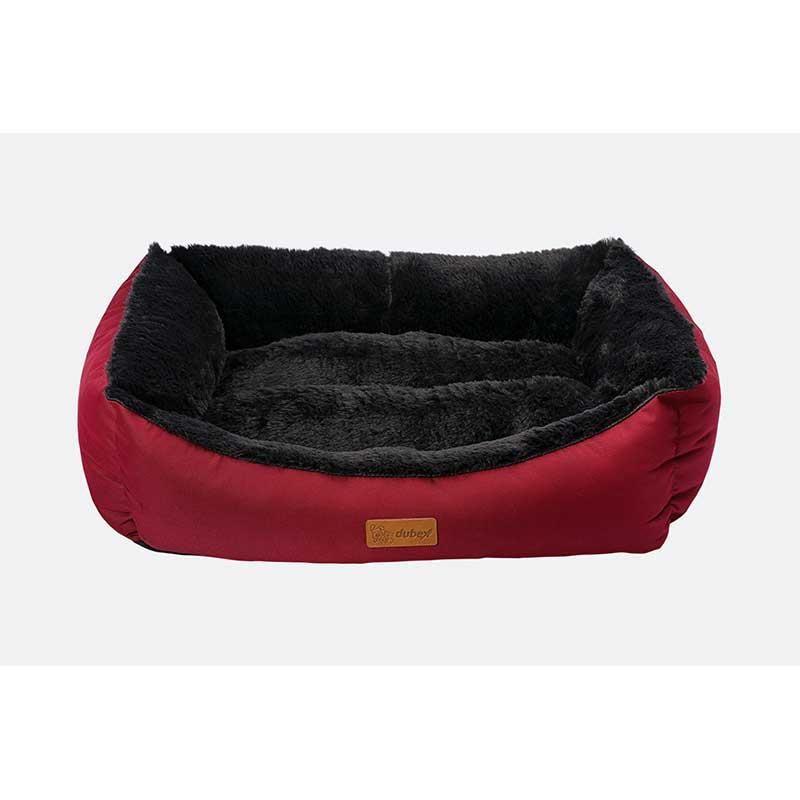 Dubex Jellybean Kedi Köpek Yatağı Bordo Large