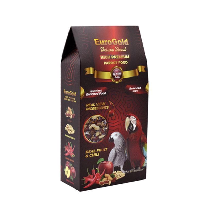 EuroGold Deluxe Blend Premium Papağan Yemi 650 Gr