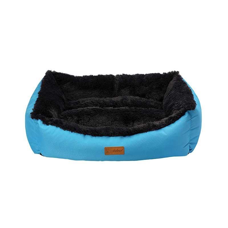 Dubex Jellybean Kedi Köpek Yatağı Mavi Small