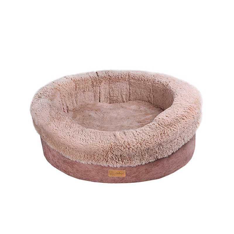 Dubex Donat Kedi Köpek Yatağı Camel Medium