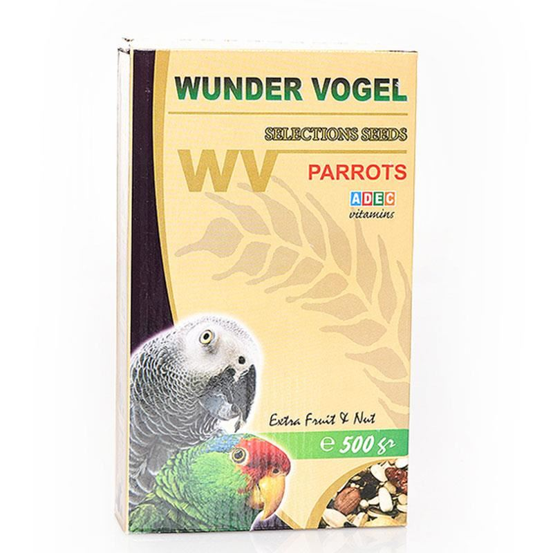 Wunder Vogel Selection Papağan Yemi 500 Gr