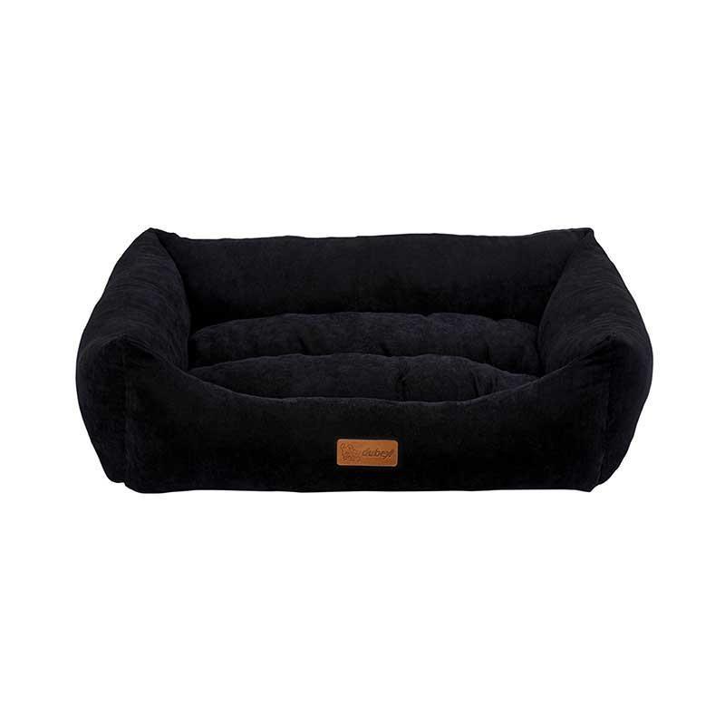 Dubex Cookie Kedi Köpek Yatağı Siyah Medium