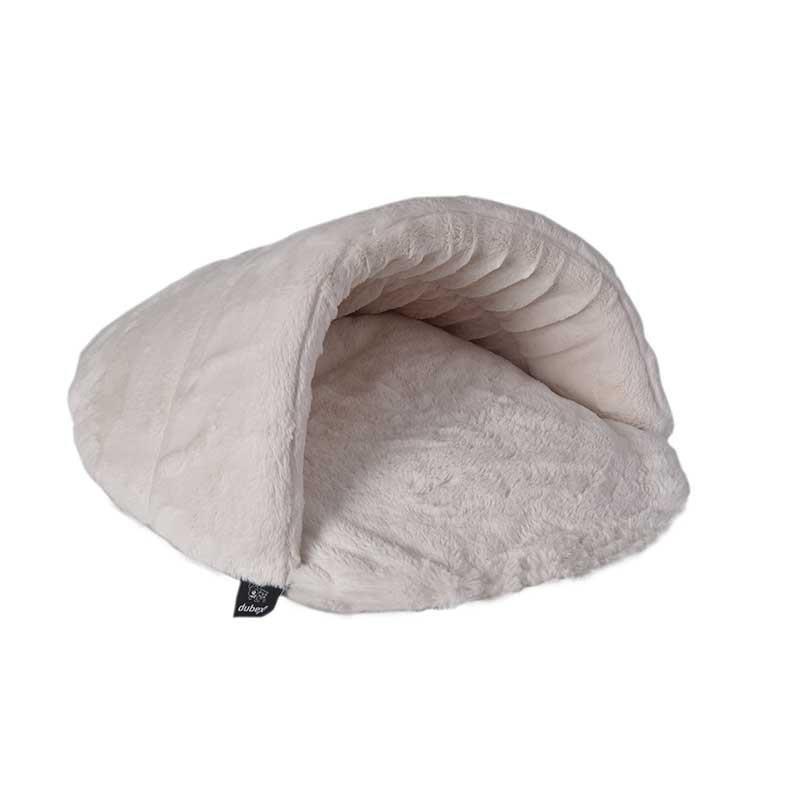 Dubex Peluş Terlik Yatak Beyaz