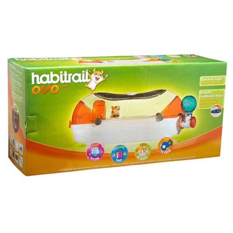 Habitrail Ovo Loft Komple Hamster Kafes Seti
