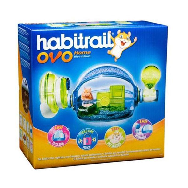 Habitrail Ovo Home Hamster Kafesi Mavi