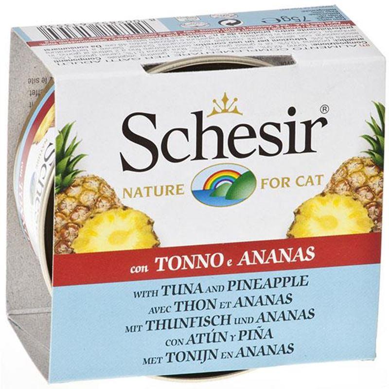 Schesir Fruit Ton Ve Ananaslı Kedi Konservesi 75 Gr