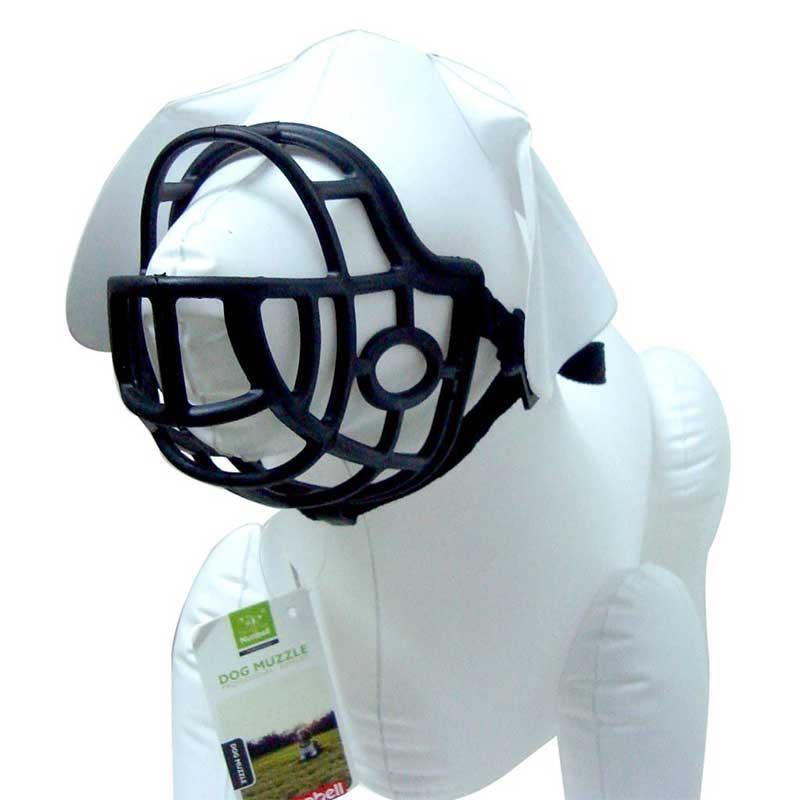 Nunbell Köpek Plastik-Slikon Ağızlık L