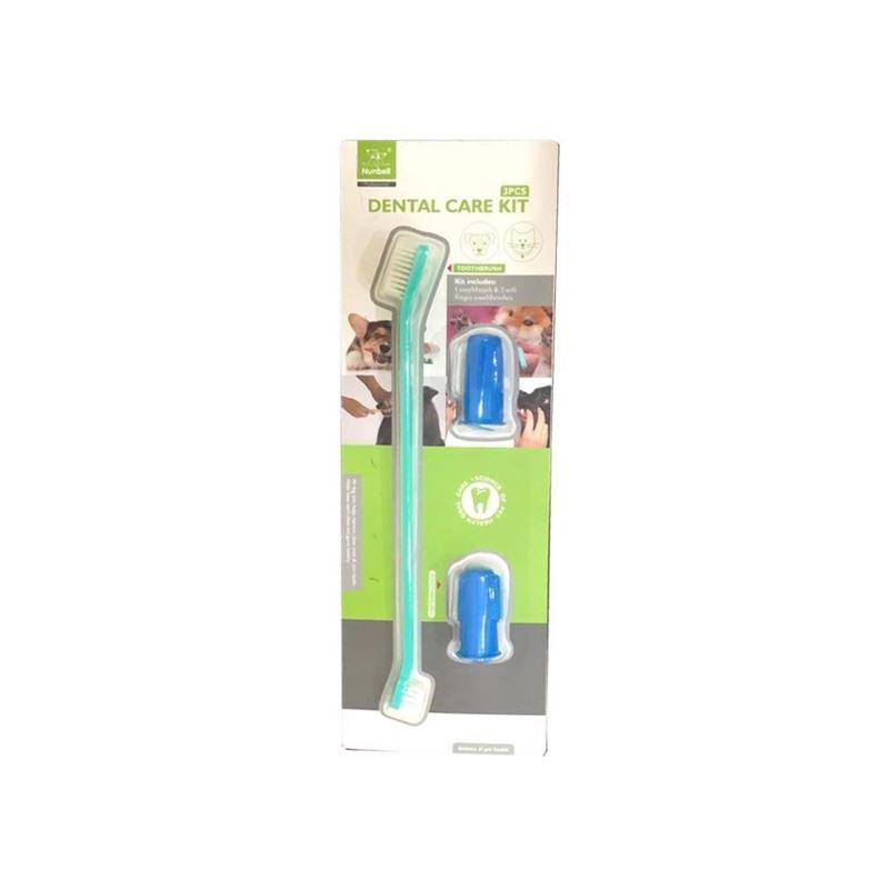 Nunbell Dental Set Diş Fırçası + Parmak Diş Fırçası Set